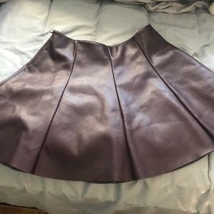 Design Lab Lord & Taylor Skirts - Leather Skirt
